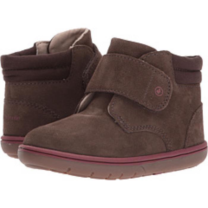 リンカーン 茶 ブラウン ベビー 赤ちゃん用 ベビー服 靴 【 STRIDE RITE SRTECH LINCOLN TODDLER BROWN 】
