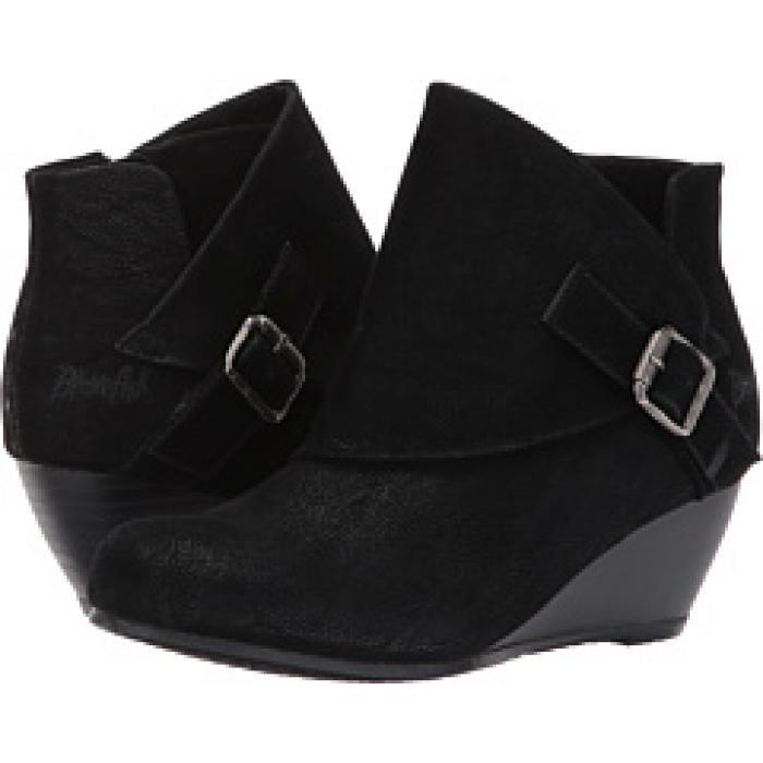 【エントリーで全商品ポイント10倍1/9 20:00-1/16 01:59迄】黒 ブラック 子供用 リトルキッズ 靴 ブーツ 【 BLACK BLOWFISH KIDS BUBBAK FAWN PU 】