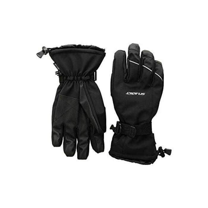 ブルック グローブ 黒 ブラック メンズ 男性用 小物 メンズ手袋 【 BLACK SEIRUS BROOK GLOVES 】