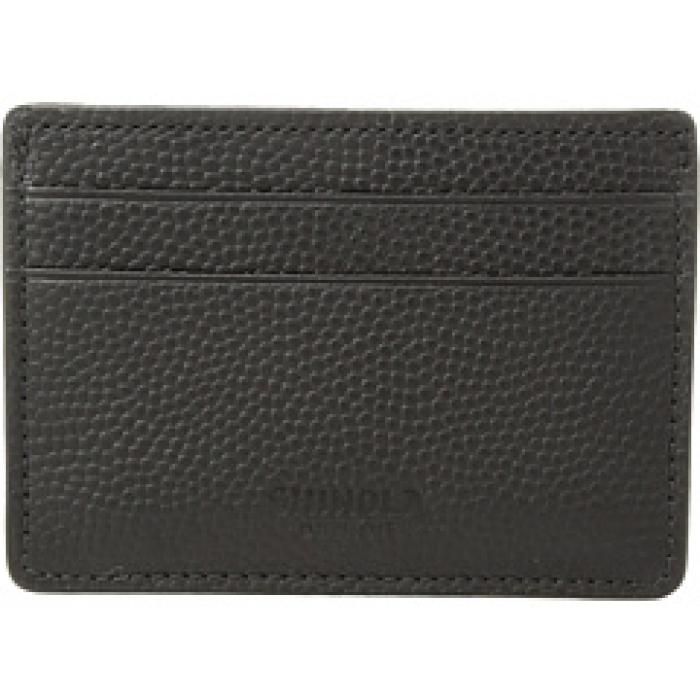 デトロイト アイディー カード ケース 黒 ブラック メンズ 男性用 メンズ財布 【 BLACK SHINOLA DETROIT LATIGO ID CARD CASE 】
