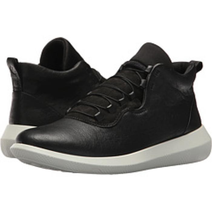 c6b92d476d6a8 エコー ハイ トップ ヌバック レディース 女性用 靴   ECCO SCINAPSE HIGH TOP BLACK YAK LEATHER