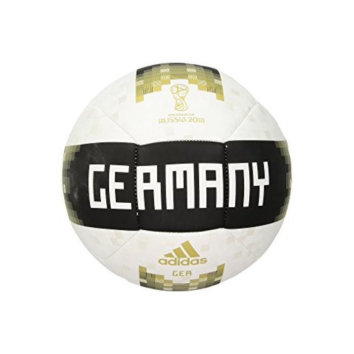アディダス オフィシャル ボール ゴールド 金 メンズ 男性用 サイクリング ウォーターボトル 【 ADIDAS OFFICIAL LICENSED PRODUCT GERMANY BALL WHITE BLACK MATTE GOLD 】