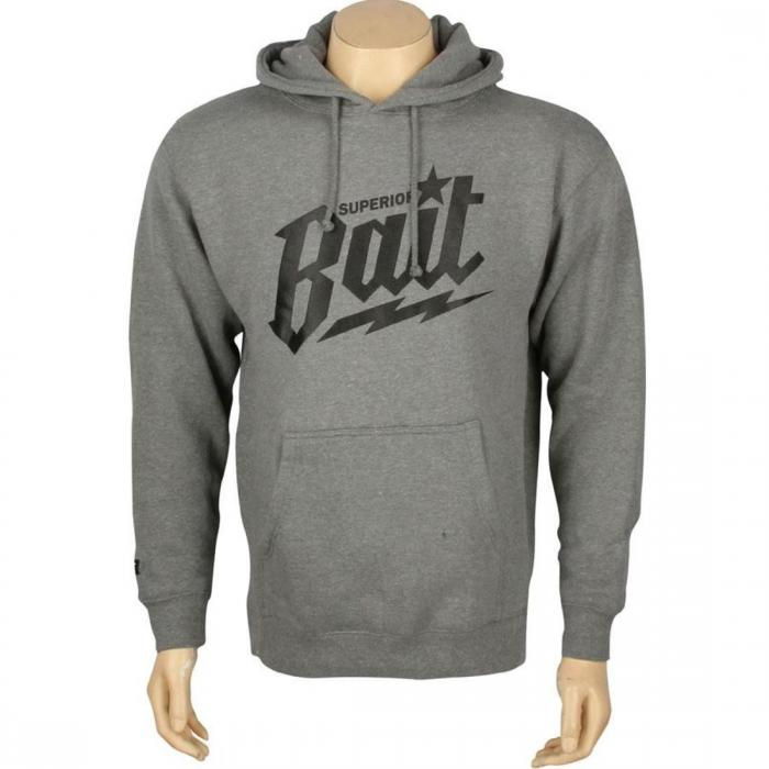 【海外限定】フーディー パーカー ヘザー 【 HEATHER BAIT SUPERIOR HOODY GUNMETAL BLACK 】