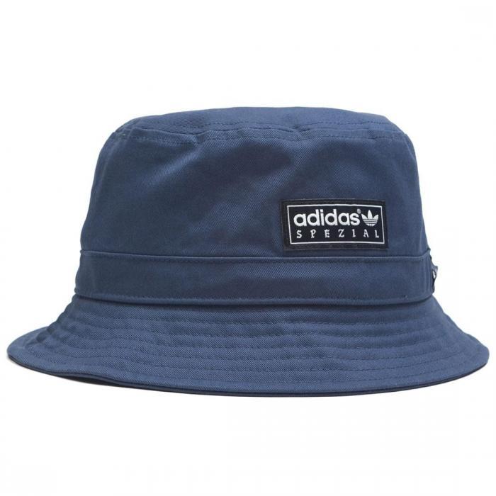 アディダス スペシアル ユニオン バケツ ハット ダーク 青 ブルー キャップ ブランド雑貨 帽子 小物 バッグ メンズ帽子 【 ADIDAS UNION BLUE SPEZIAL X LA BUCKET HAT DARK 】