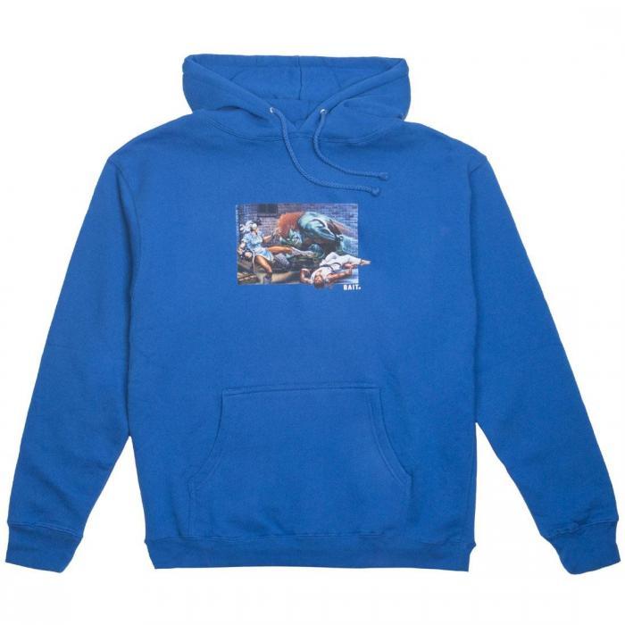 ストリート ファイター メン ワールド ウォリアー フーディー パーカー 青 ブルー ロイヤル ジャケット ベスト トップス メンズファッション 【 STREET BLUE BAIT X FIGHTER MEN THE WORLD WARRIOR HOODY ROYAL
