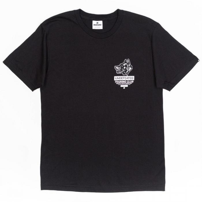 【海外限定】トレーニング クラブ Tシャツ 【 UNDEFEATED MEN TRAINING CLUB TEE BLACK 】