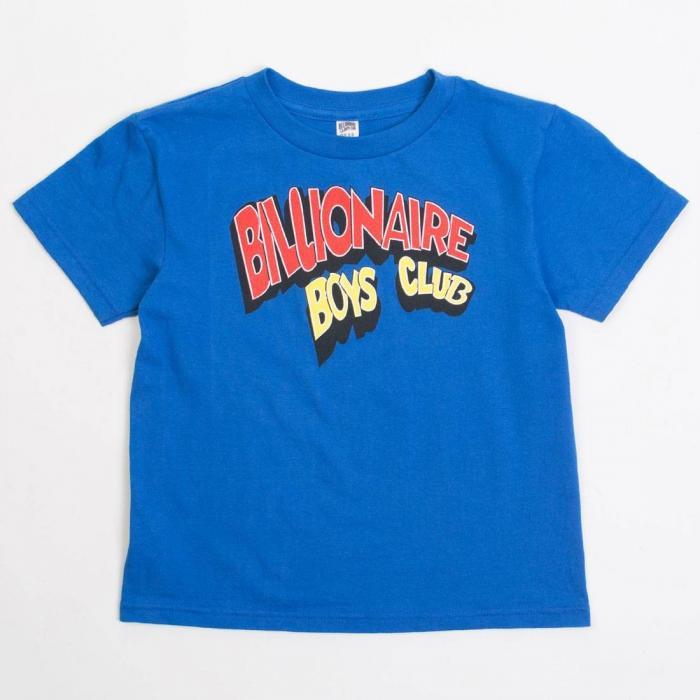 ビリオネア ビッグキッズ 子供用 クラブ Tシャツ 青 ブルー ロイヤル トップス 半袖 メンズファッション カットソー 【 BLUE BILLIONAIRE BOYS CLUB YOUTH TOONS TEE ROYAL 】