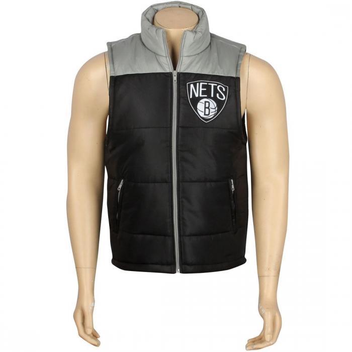 【海外限定】ブルックリン ネッツ ベスト 【 MITCHELL AND NESS BROOKLYN NETS NBA WINNING VEST BLACK 】