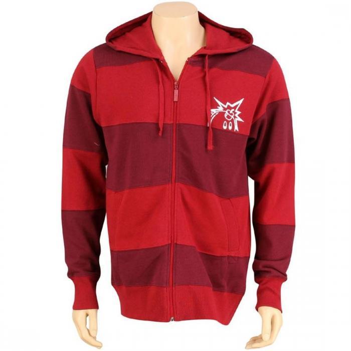 ジップ アップ フーディー パーカー 赤 レッド ジャケット ベスト トップス メンズファッション 【 THE HUNDREDS CUTS ZIP UP HOODY RED 】