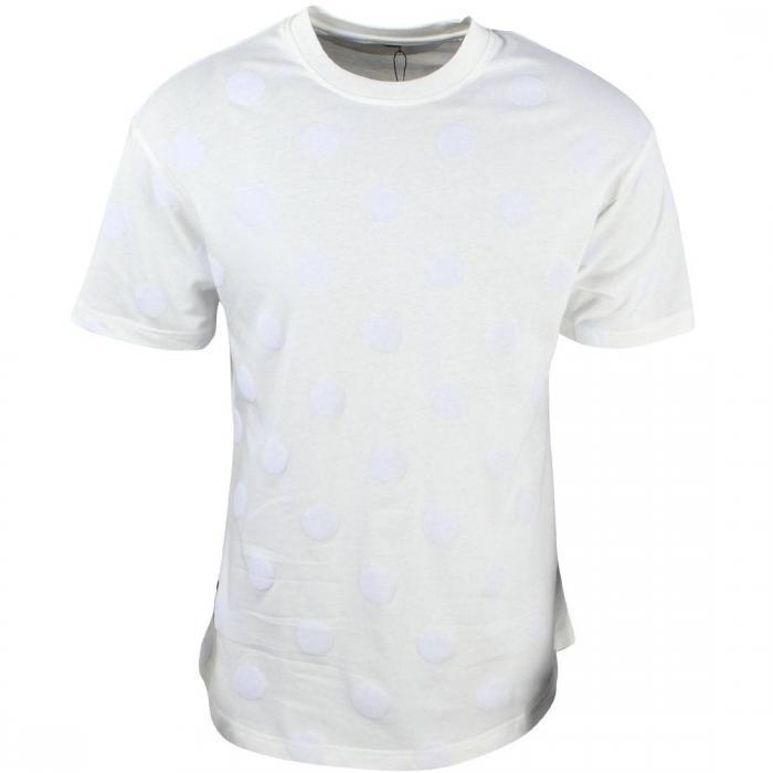 ディープ メン スクープ Tシャツ 白 ホワイト オフ トップス 半袖 カットソー メンズファッション 【 10 DEEP MEN BAZILLE SCOOP TEE WHITE OFF 】