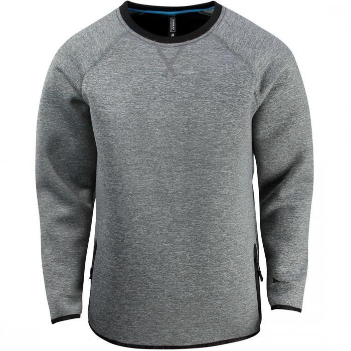 メン MEN セーター 灰色 グレー グレイ グレー トップス メン 長袖 メンズファッション Tシャツ カットソー【 GRAY BRANDBLACK MEN AKIRA SWEATER】, 和泊町:855002d3 --- sunward.msk.ru