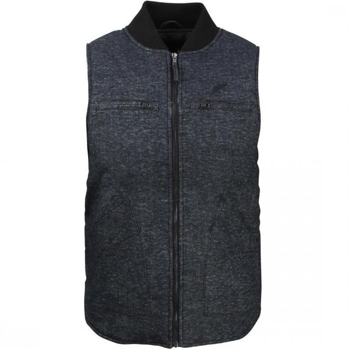 パブリッシュ メン ミカ ベスト 黒 ブラック ジャケット パーカー オーダーメイド ジレ メンズファッション 【 BLACK PUBLISH MEN MIKA VEST 】