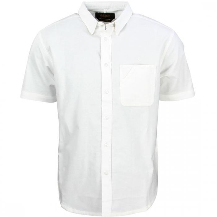 ディープ ショーツ ハーフパンツ スリーブ シャツ 白 ホワイト トップス 半袖 メンズファッション カジュアルシャツ 【 SLEEVE 10 DEEP REDTAIL SHORT SHIRT WHITE 】