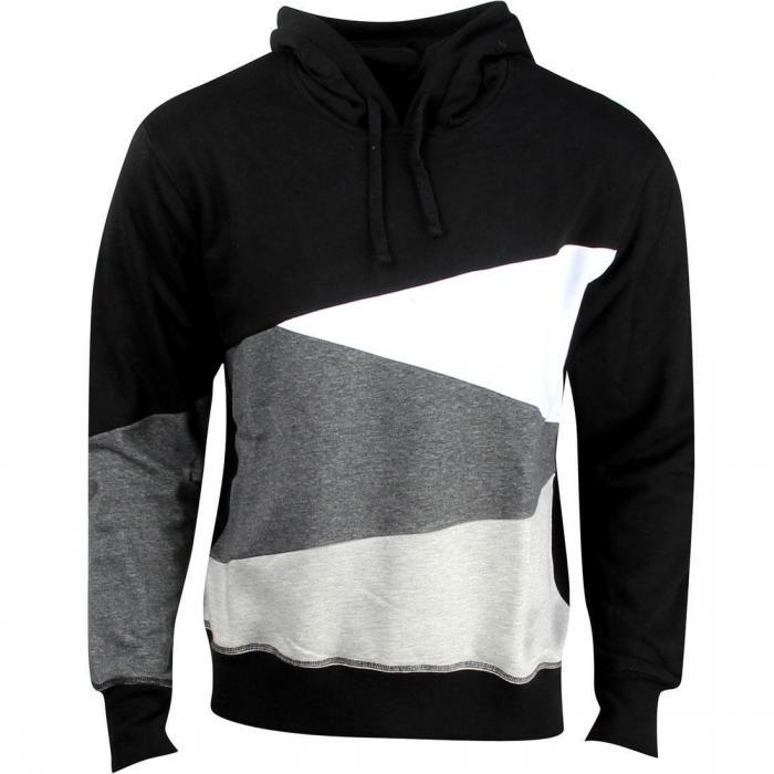 メン フーディー パーカー 黒 ブラック 灰色 グレー グレイ ジャケット ベスト メンズファッション トップス 【 BLACK GRAY UNYFORME MEN EDWARD HOODY 】