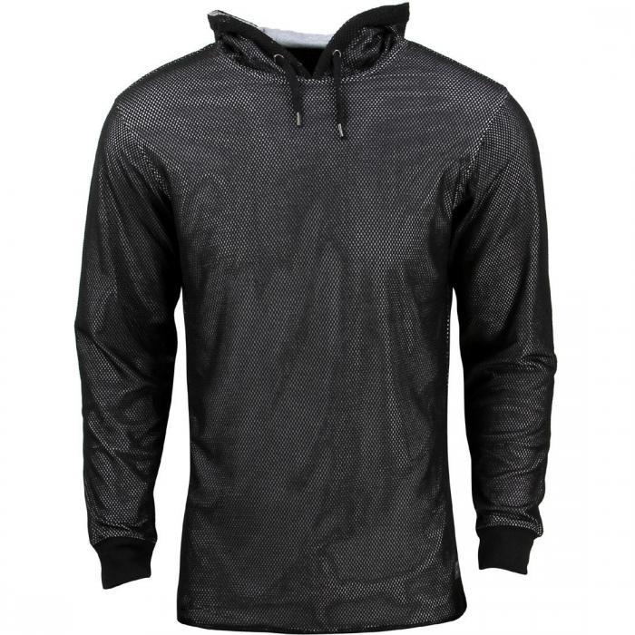 メン フーディー パーカー 黒 ブラック ジャケット ベスト メンズファッション トップス 【 BLACK UNYFORME MEN HOLY HOODY 】