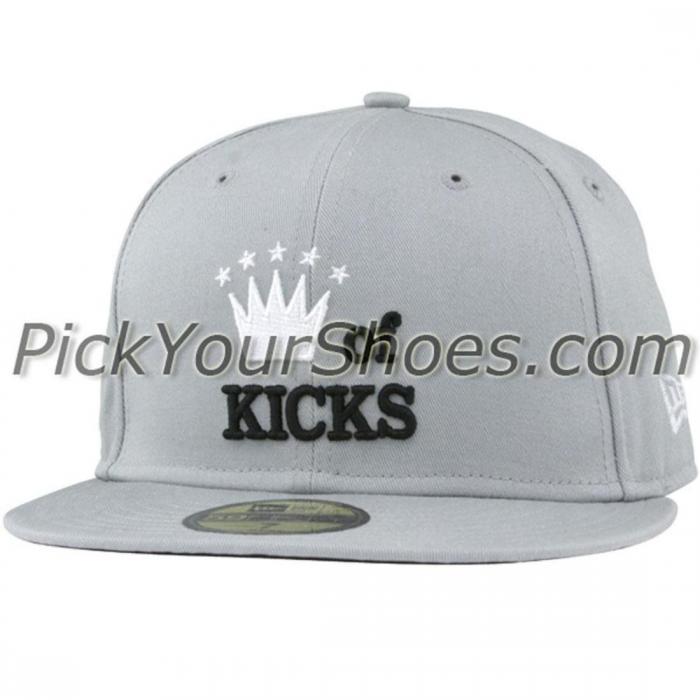 スニークティップキングキックスニューエラフィッテッドキャップ帽子銀色シルバーニューエラハット小物メンズ帽子ブランド雑貨バッグ【SNEAKTIPKINGOFKICKSNEWERAFITTEDCAPSILVER