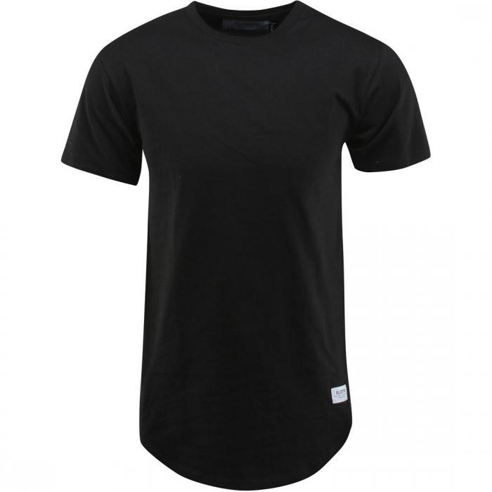 コットン Tシャツ 黒 ブラック トップス 半袖 カットソー メンズファッション 【 BLACK BLOODBATH COTTON EXTENDED TEE 】