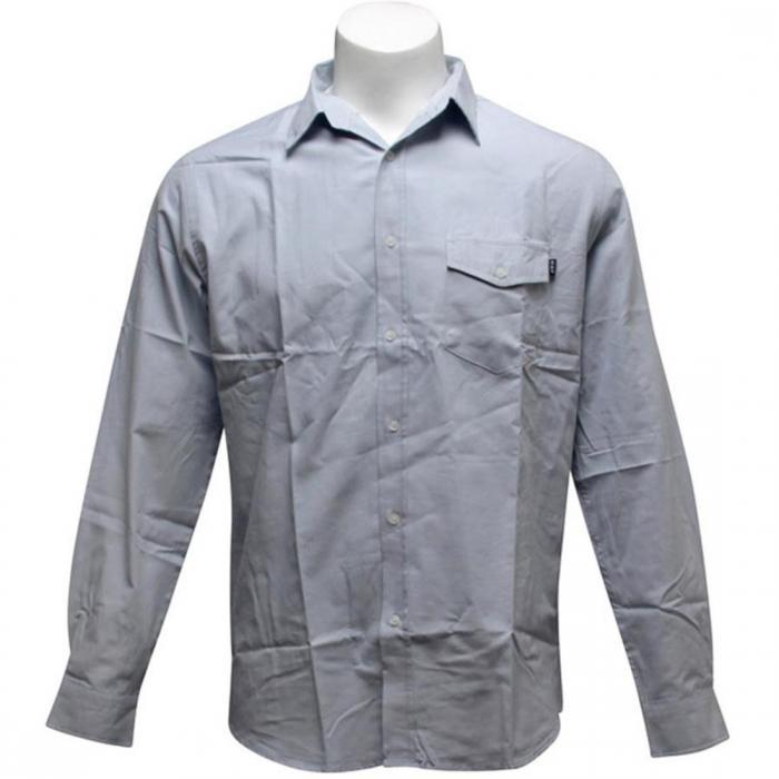 【海外限定】ハフ ポケット オックスフォード ウーブン シャツ 【 HUF WOVEN POCKET OXFORD SHIRT POWDER BLUE 】