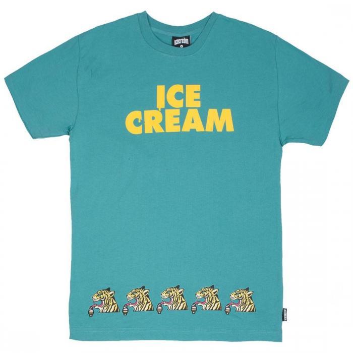 【海外限定】アイス クリーム メン Tシャツ 【 ICE CREAM MEN TEE TEAL 】