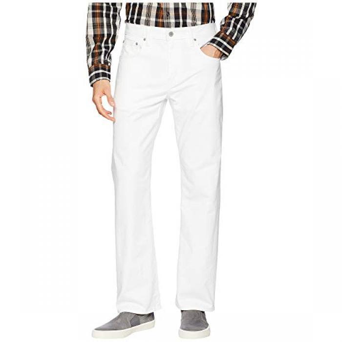 メンズ 男性用 ルーズ ストレート フィット 白 ホワイト ブル デニム LEVI'S 569 パンツ メンズファッション 【 MENS LOOSE STRAIGHT FIT WHITE BULL DENIM 】