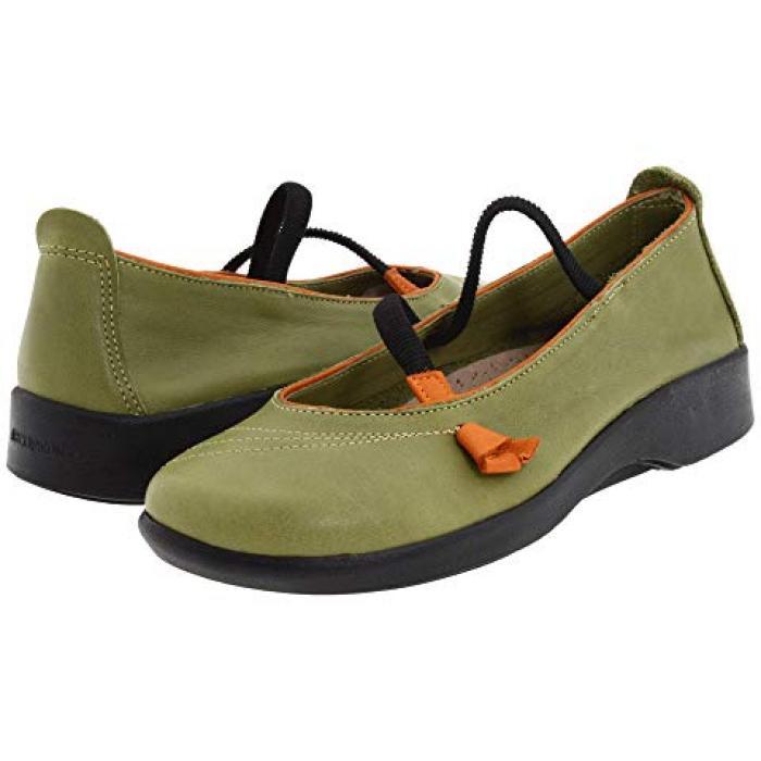 緑 グリーン レディース 女性用 レディース靴 【 GREEN ARCOPEDICO VITORIA 】