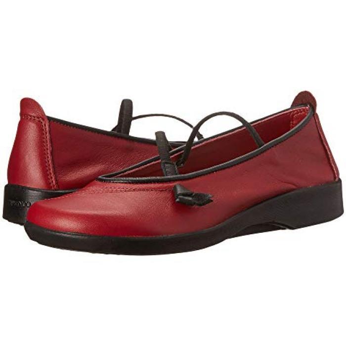 ワイン色 バーガンディー レディース 女性用 靴 レディース靴 【 ARCOPEDICO VITORIA BURGUNDY 】
