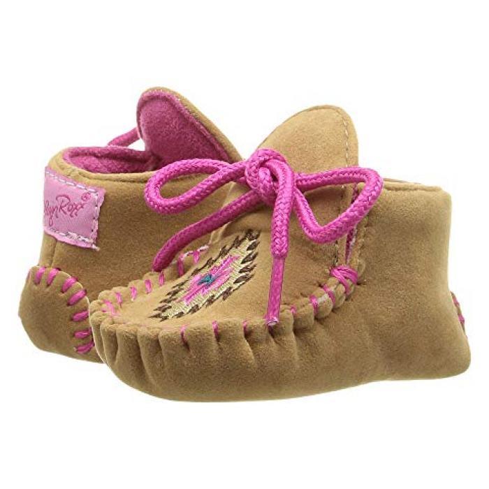 【エントリーで全商品ポイント10倍1/9 20:00-1/16 01:59迄】ウェスタン M&F ベビー 赤ちゃん用 靴 【 WESTERN KIDS KENDRA INFANT TODDLER TAN PINK 】