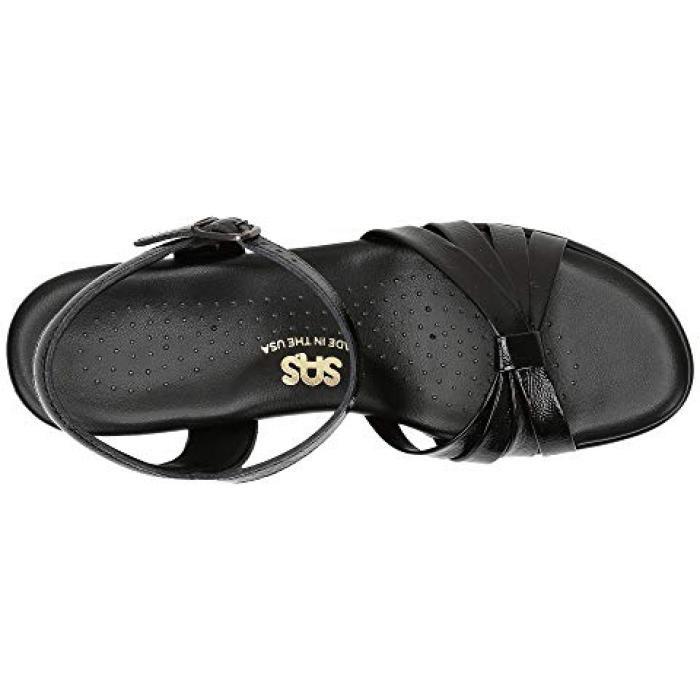 黒 ブラック パテント レディース 女性用 靴 【 BLACK SAS STRIPPY PATENT 】