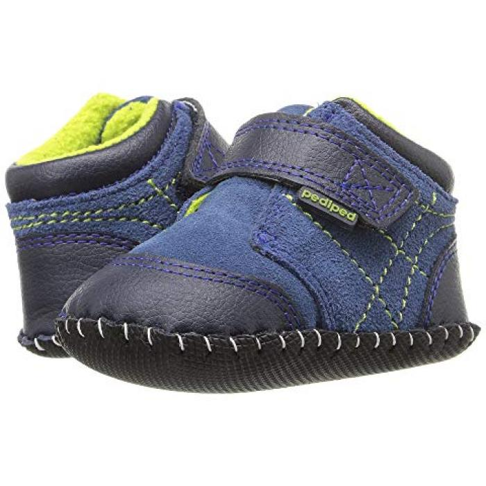 【エントリーで全商品ポイント10倍1/9 20:00-1/16 01:59迄】トロイ オリジナルス 青 ブルー ベビー 赤ちゃん用 ベビー靴 【 BLUE PEDIPED TROY ORIGINALS INFANT 】
