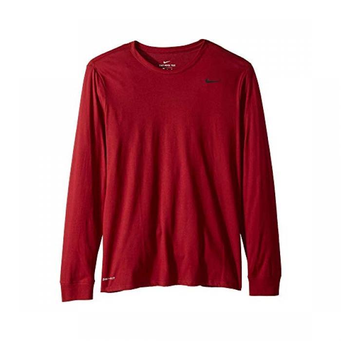 ナイキ ドライ トレーニング ロング スリーブ Tシャツ チーム 赤 レッド メンズ 男性用 メンズファッション トップス 【 NIKE SLEEVE TEAM DRY TRAINING LONG TSHIRT RED 】