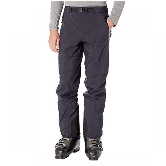 パンツ 黒 ブラック ARC'TERYX メンズ 男性用 メンズファッション 【 BLACK ISER PANTS 】