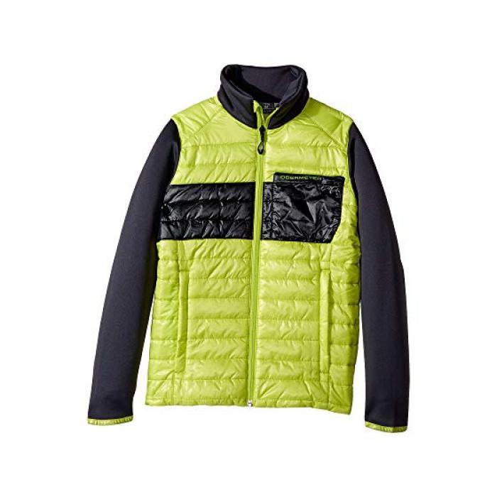 【エントリーで全商品ポイント10倍1/9 20:00-1/16 01:59迄】ジャケット 緑 グリーン フラッシュ 子供用 ビッグキッズ コート 【 GREEN OBERMEYER KIDS ROWAN INSULATOR JACKET FLASH 】