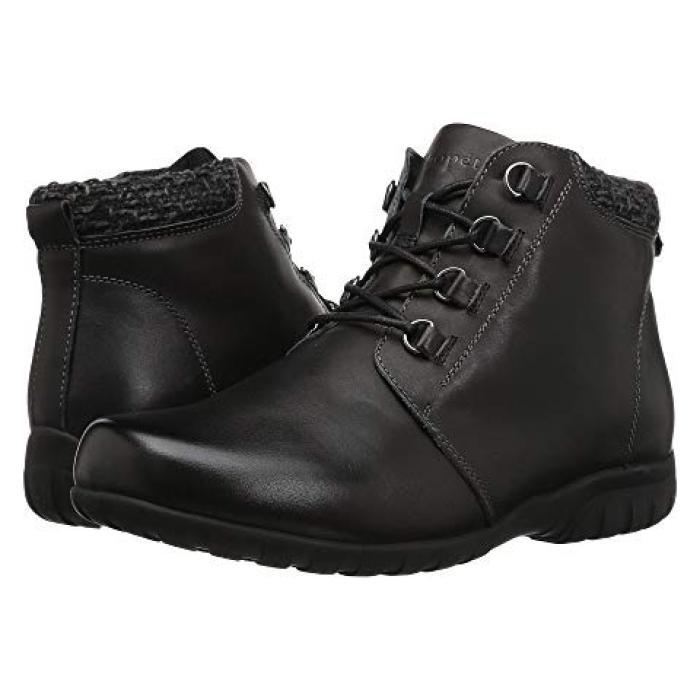 黒 ブラック レザー レディース 女性用 レディース靴 靴 【 BLACK PROPET DELANEY LEATHER 】