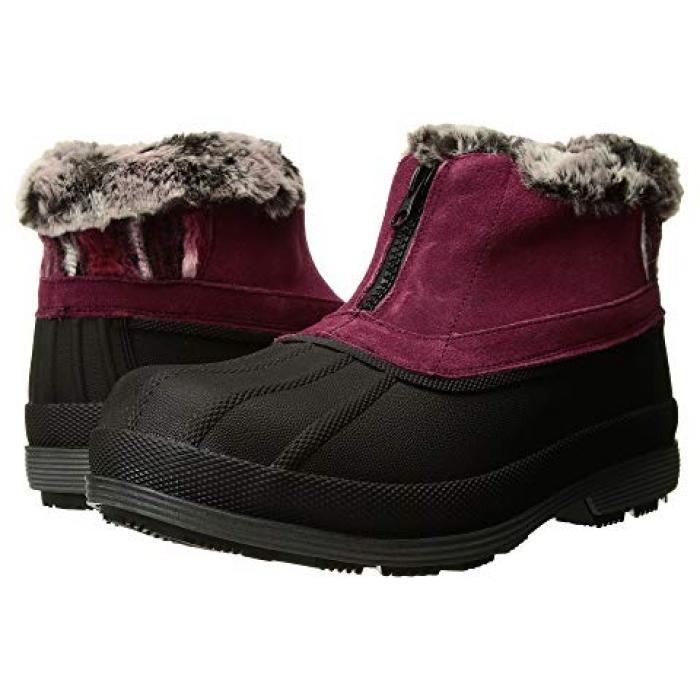 アンクル ジップ ベリー レディース 女性用 メンズ靴 ブーツ 【 PROPET LUMI ANKLE ZIP BERRY 】