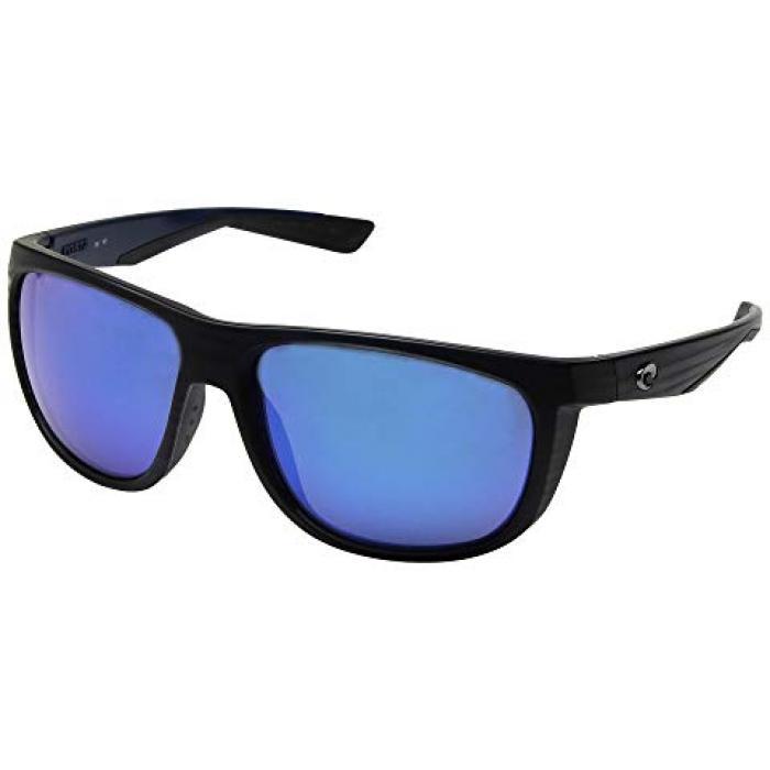 マット 黒 ブラック ミラー ガラス メンズ 男性用 サングラス 小物 【 BLACK COSTA KIWA MATTE FRAME BLUE MIRROR GLASS W580 】
