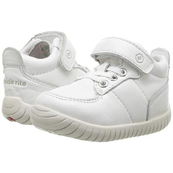 ベイリー 白 ホワイト ベビー 赤ちゃん用 マタニティ ベビー靴 【 STRIDE RITE SRTECH BAILEY INFANT TODDLER WHITE 】