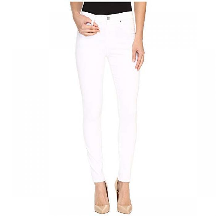 クロップ イン 白 ホワイト レディース 女性用 メンズファッション パンツ 【 CROP AG ADRIANO GOLDSCHMIED FARRAH IN WHITE 】