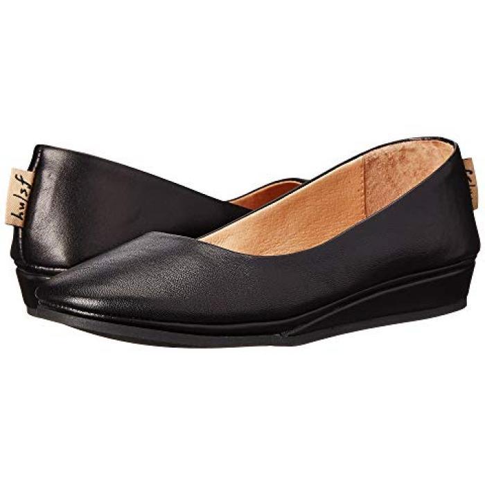 フレンチ ソール フラット 黒 ブラック ナッパ レディース 女性用 靴 レディース靴 【 BLACK FRENCH SOLE ZEPPA FLAT NAPPA 】