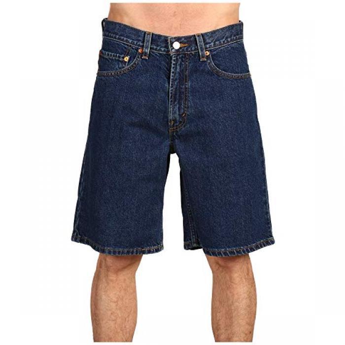 メンズ 男性用 リラックス フィット ショーツ ハーフパンツ ダーク ストーンウォッシュ LEVI'S 550 ズボン パンツ 【 MENS RELAXED FIT SHORT DARK STONEWASH 】