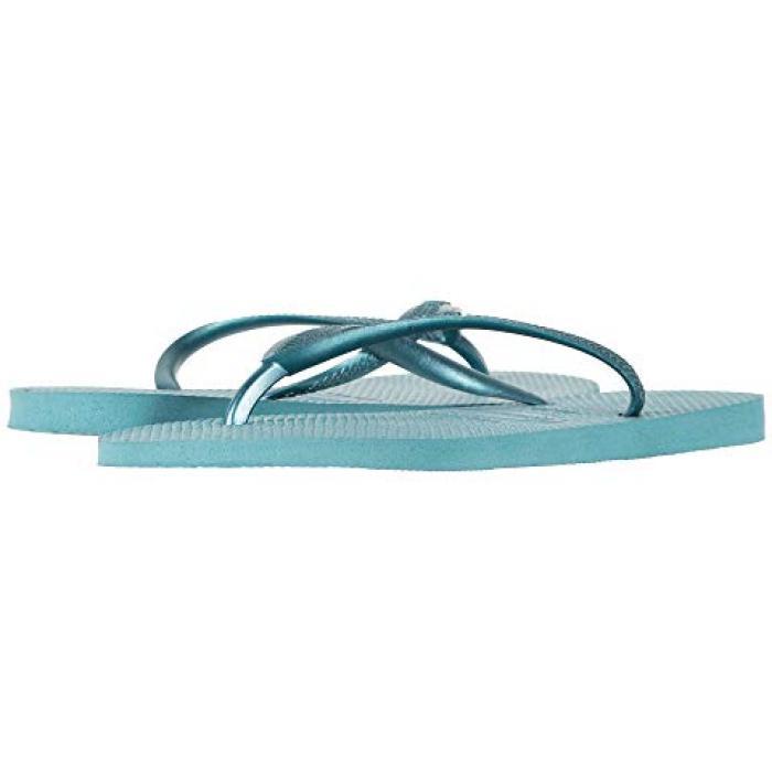 ハワイアナス スリム フリップ フロップ ミネラル 青 ブルー レディース 女性用 レディース靴 【 SLIM BLUE HAVAIANAS FLIP FLOPS MINERAL 】