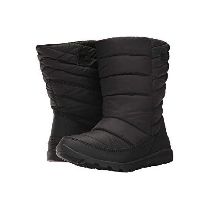 【エントリーで全商品ポイント10倍1/9 20:00-1/16 01:59迄】ホイットニー ミッド 黒 ブラック 子供用 ビッグキッズ ブーツ ベビー 【 BLACK SOREL KIDS WHITNEY MID TODDLER 】