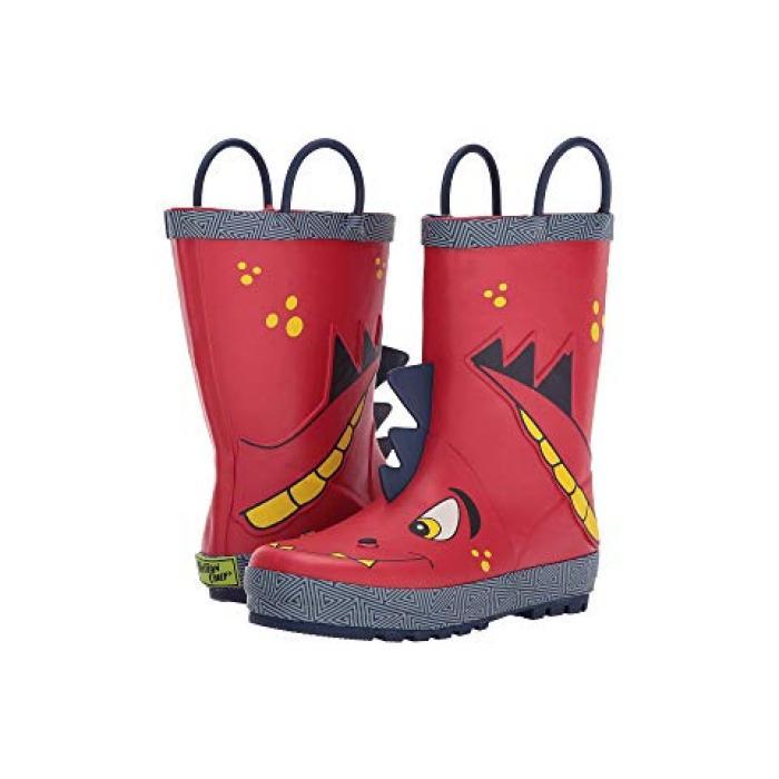 【エントリーで全商品ポイント10倍1/9 20:00-1/16 01:59迄】ウェスタン チーフ スパイク レイン ブーツ 赤 レッド 子供用 ビッグキッズ 靴 【 WESTERN CHIEF KIDS SPIKE RAIN BOOTS TODDLER RED 】