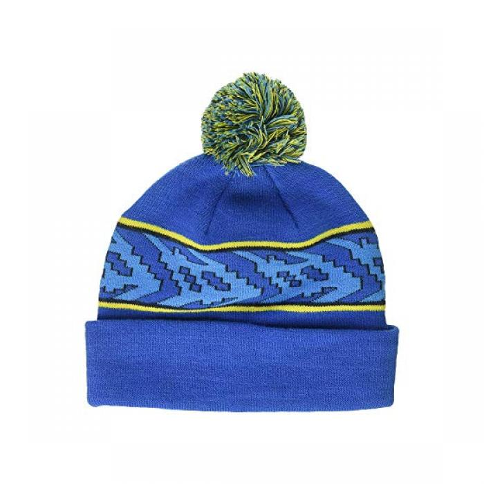 【エントリーで全商品ポイント10倍1/9 20:00-1/16 01:59迄】コロンビア リッジ キャップ 帽子 スーパー 青 ブルー ビッグキッズ 子供用 キッズ 【 BLUE COLUMBIA BOULDER RIDGE BEANIE YOUTH SUPER 】