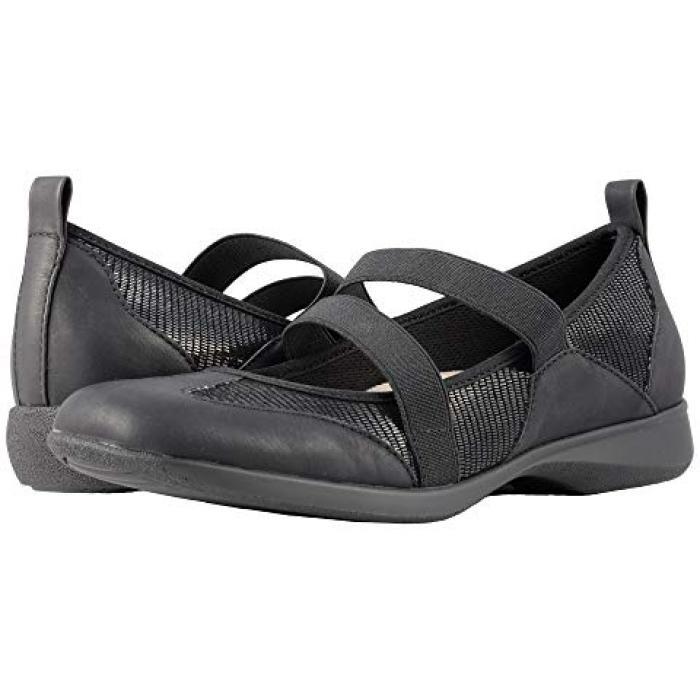 ジョージー 黒 ブラック リザード レディース 女性用 レディース靴 【 BLACK TROTTERS JOSIE LIZARD 】