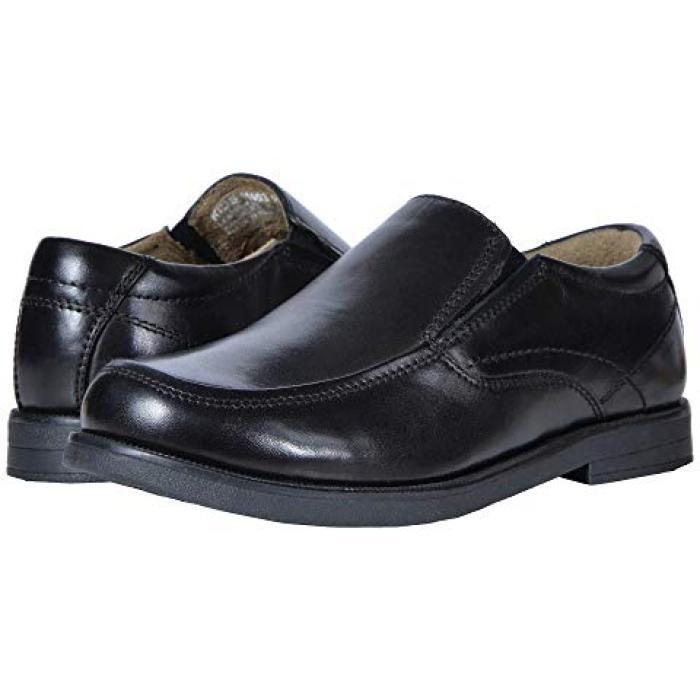 【エントリーで全商品ポイント10倍1/9 20:00-1/16 01:59迄】モック 黒 ブラック SLIP JR. 子供用 ビッグキッズ 靴 マタニティ 【 BLACK FLORSHEIM KIDS MIDTOWN MOC TODDLER 】