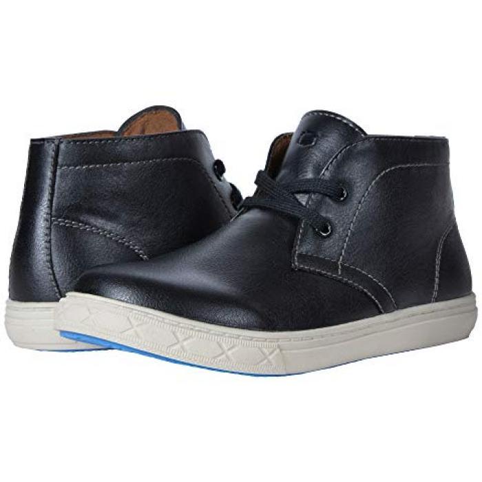 【エントリーで全商品ポイント10倍1/9 20:00-1/16 01:59迄】カーブ チャッカ 黒 ブラック BOOT JR. 子供用 ビッグキッズ マタニティ 靴 【 BLACK FLORSHEIM KIDS CURB CHUKKA TODDLER 】