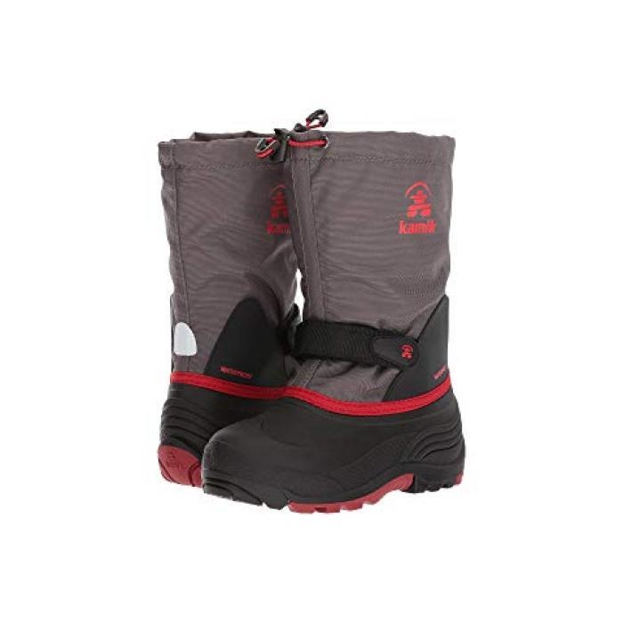 チャコール 子供用 ビッグキッズ ベビー 靴 【 KAMIK KIDS WATERBUG5 TODDLER CHARCOAL 】