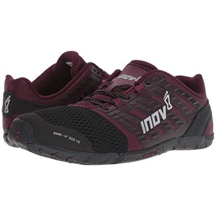 イノヴェイト メンズ 男性用 靴 【 INOV8 BAREXF 210 V2 BLACK PURPLE 】