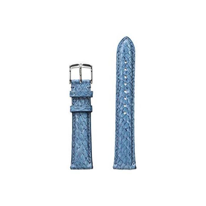 フィッシュ スキン ストラップ 青 ブルー レディース 女性用 レディース腕時計 腕時計 【 BLUE MICHELE 18MM SEAMIST FISH SKIN STRAP 】