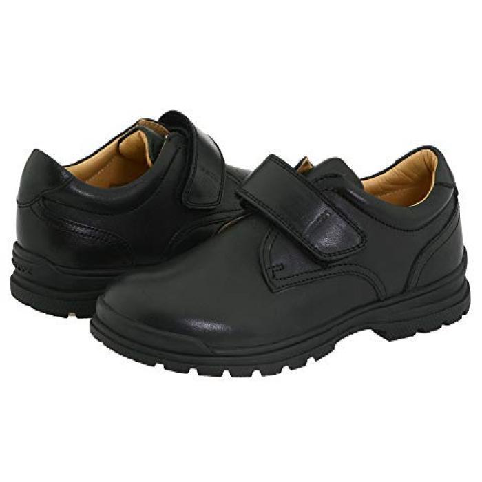 【エントリーで全商品ポイント10倍1/9 20:00-1/16 01:59迄】ジュニア ウィリアム 黒 ブラック 子供用 リトルキッズ フォーマル靴 靴 【 BLACK GEOX KIDS JUNIOR WILLIAM 】